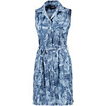 Jack Wolfskin Sonora Jungle Kurzarmkleid Damen blau/allover