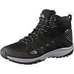 The North Face Litewave Explore Mid GTX Wanderschuhe Herren schwarz