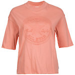 CONVERSE Embossed Chuck Patch T-Shirt Damen lachs