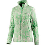 Jack Wolfskin Kiruna Jungle Fleecejacke Damen hellgrün/allover