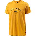 FJÄLLRÄVEN Trekking Equipment Printshirt Herren gelb