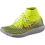 Nike Lunarepic Flyknit Shield Laufschuhe Herren neongelb/gold/grau