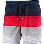 Quiksilver Word Waves Volley 22 Badeshorts Herren rot/grau