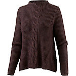 Only Strickpullover Damen aubergine