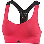 adidas CMMTTD CHILL Sport-BH Damen pink/schwarz