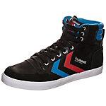 hummel Stadil High Sneaker schwarz / blau / rot