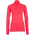 Nike Pro Warm Funktionsshirt Damen korall / orange