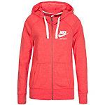 Nike Gym Vintage Sweatjacke Damen korall / weiß