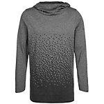 Nike LeBron Hooded Langarmshirt Herren anthrazit / schwarz