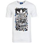adidas Culture Clash T-Shirt Herren weiß / schwarz
