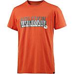 Jack Wolfskin Slogan Printshirt Herren orange