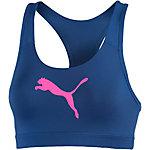 PUMA PWRSHAPE Forever Sport-BH Damen blau/pink