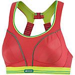 Shock Absorber RUN Sport-BH Damen rot/limette