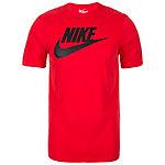 Nike Futura Icon T-Shirt Herren rot / schwarz
