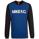 Nike F.C. Sweatshirt Herren schwarz / blau