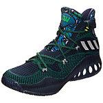 adidas Crazy Explosive Primeknit Basketballschuhe Herren dunkelblau / grün