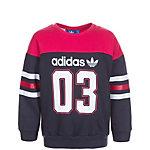 adidas FR Crew Sweatshirt Mädchen dunkelblau / pink