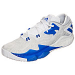 adidas Crazylight Boost Low 2016 Basketballschuhe Herren weiß / blau / grau