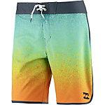 Billabong Lineup Boardshorts Herren orange/grau/türkis
