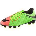 Nike JR HYPERVENOM PHINISH II FG Fußballschuhe Kinder neongrün/orange
