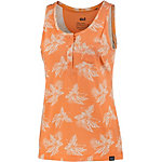 Jack Wolfskin Tropical Top Tanktop Damen papaya/allover