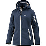 Jack Wolfskin Central Valley Softshelljacke Damen dunkelblau