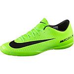 Nike MERCURIALX VICTORY VI IC Fußballschuhe Herren neongrün/schwarz