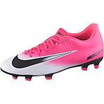 Nike MERCURIAL VORTEX III FG Fußballschuhe Herren pink/weiß