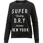 Superdry Sweatshirt Damen schwarz