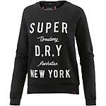 Superdry Sweatshirt Damen schwarz