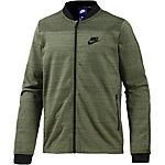 Nike AV15 Sweatjacke Herren oliv
