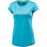 PUMA ACTIVE Essential T-Shirt Damen blau/melange