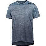 adidas Freelift Gradient Funktionsshirt Herren blau melange