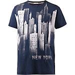 Tommy Hilfiger T-Shirt Herren blau/weiß