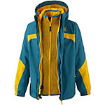 Jack Wolfskin Outdoorjacke Jungen blau/orange