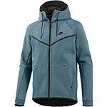 Nike Tech Fleece Kapuzenjacke Herren blau
