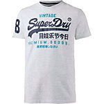 Superdry T-Shirt Herren hellgrau