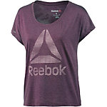 Reebok One Series T-Shirt Damen lila/melange