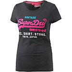 Superdry T-Shirt Damen navy/pink