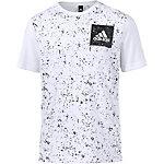 adidas SID AOP Printshirt Herren weiß