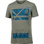 Reebok Crossfit Printshirt Herren oliv