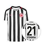 Nike Eintracht Frankfurt 16/17 Heim Stendera Fußballtrikot Kinder weiß / schwarz