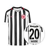 Nike Eintracht Frankfurt 16/17 Heim Hasebe Fußballtrikot Kinder weiß / schwarz