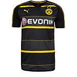 PUMA Borussia Dortmund 16/17 Auswärts Mor Fußballtrikot Herren schwarz / anthrazit