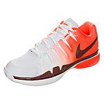 Nike Zoom Vapor 9.5 Tour Tennisschuhe Damen neonrot / weiß