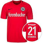Nike Eintracht Frankfurt 16/17 Auswärts Stend Fußballtrikot Herren rot / schwarz