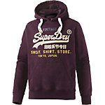 Superdry Sweatshirt Herren bordeaux