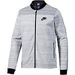 Nike AV15 Sweatjacke Herren weiß/grau