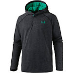 Under Armour HeatGear Tech Popover Langarmshirt Herren schwarz