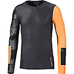 Reebok Crossfit Kompressionsshirt Herren anthrazit/orange
